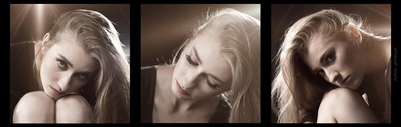 portret studyjny - makeup Monika Zawiślan